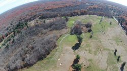Locust Valley from 400' up, over the 7th fairway.